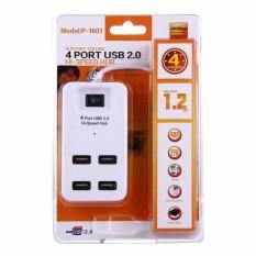 HUB chia USB 4 cổng có công tắc dây dài 1.2m P-1601