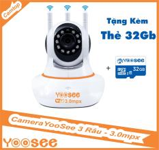 [COMBO] Camera Ip YooSee 3.0mpx Ultra HD – Kèm thẻ nhớ 32G