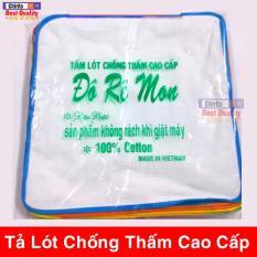Combo 10 Miếng Tả Lót Chống Thấm Đô Rê Mon Cho Bé – Có Thể Giặt Máy – Kích Thước 30×30