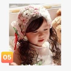 Băng đô tóc giả cho bé gái từ 3-36 tháng