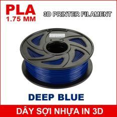 Dây sợi nhựa PLA in 3D 1.75mm 1Kg Deep Blue