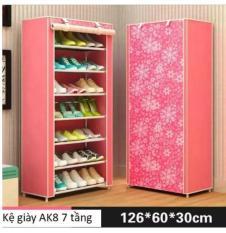 Tủ vải đựng giày dép 6 ngăn