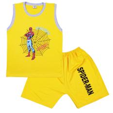 Đồ bộ bé trai in hình 3D Spider Man – Chất vải mềm mại, thoáng mát [ ẢNH THẬT 100% DO SHOP CHỤP ]