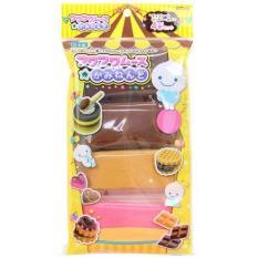 Bộ làm gôm/ tẩy Kutsuwa Eraser Chocolate 4 màu
