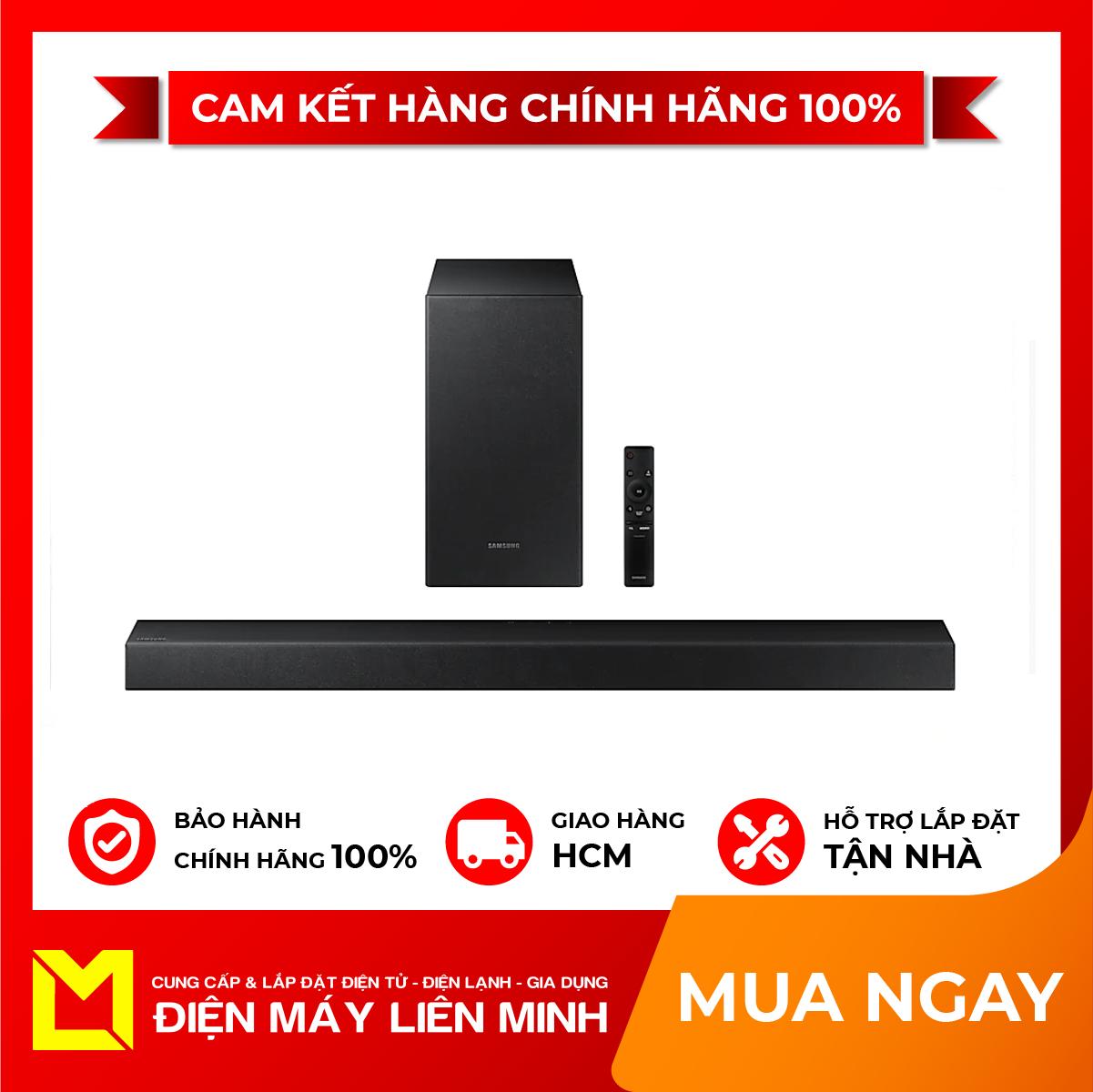 Loa thanh soundbar Samsung HW-T420/XV 2.1ch, Có cổng USB,Có kèm remote,Bluetooth 2.0, công suất:150 W