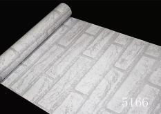 Cuộn 5M decal giấy dán tường (có sẵn keo) – ĐÁ TRẮNG PT089