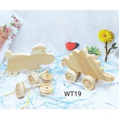 Đồ chơi gỗ bộ thú 2 con WT018