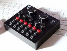 Sound card V8 Chỉnh Âm Tạo Phòng Thu Mini Tại Nhà Như Chuyên Nghiệp
