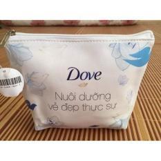 Combo 50 gói sữa tắm Dove dưỡng ẩm dịu mát 6g tặng hai túi đựng simili