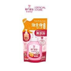 Sữa tắm dưỡng ẩm Arau Baby dạng túi 400ml