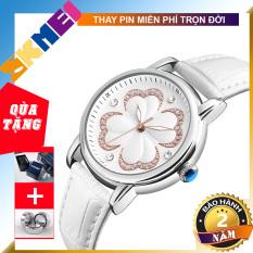 [BẢO HÀNH 2 NĂM] [TẶNG HỘP VÀ PIN] Đồng hồ nữ dây da SKMEI 9159 TREND 2020 đồng hồ kim thời trang cho phái đẹp