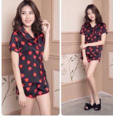 Huyen Trang Fashion Bộ Đồ Ngủ Cộc Và Dài Pijama Nữ Form Dưới 57kg Tùy Chiều Cao phong cách thời trang