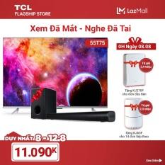 [ĐỘC QUYỀN LAZADA] Combo Xem Đã Mắt – Nghe Đã Tai – TV 55″ Android 4K UHD 55T75 và Loa Bluetooth TS3010
