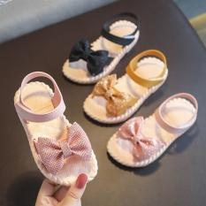 Sandal Nơ Kim Tuyến Bé Gái Đẹp Xuất Sắc – Xăng đan bé gái – SHOP MIHO SHOES