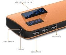 BOX SẠC DỰ PHÒNG SAMSUNG 5 CELL PIN CÓ LCD HIỂN THỊ, TÍCH HỢP ĐÈN PIN SIÊU SÁNG – TẶNG SẴN 2 CELL PIN 10000MAH