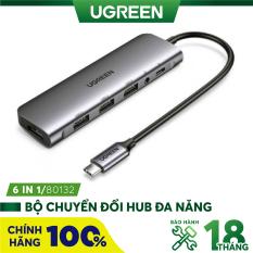 Bộ chuyển đổi đa năng cho MacBook Laptop các thiết bị máy tính điện thoại hỗ trợ USB type C truyền âm thanh hình ảnh UGREEN 40873 50538 50539 70411 50209 50319 50516 50771 60557 50990 50989 50210 20197