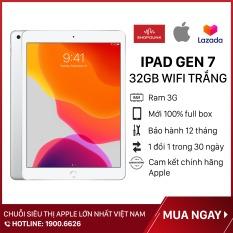 [TẶNG VOUCHER 100K DUY NHẤT NGÀY 15.07] Máy Tính Bảng Apple iPad Gen 7 (2019), Màn hình 10.2 inch , Wifi 32GB, RAM 3GB, Hàng Chính Hãng Apple, Mới 100% full box, Nguyên Seal, Chưa Kích Hoạt Bảo hành 12 tháng – Shopdunk