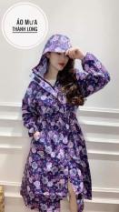 Áo mưa măng tô nữ thời trang Thành Long. Hàng cao cấp loại 1 lớp, siêu bền đẹp