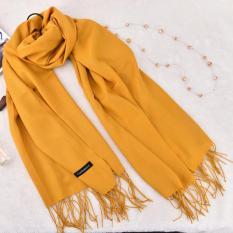 Khăn len quàng cổ mùa đông Cashmere thời trang nam nữ, loại cao cấp hàng chuẩn kích thước 200 x 70cm, nặng 250g