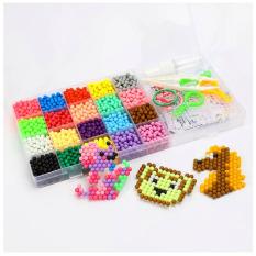 Bộ đồ chơi xếp hình hạt nhựa sáng tạo 10 màu sắc cho bé yêu BBShine – DC013