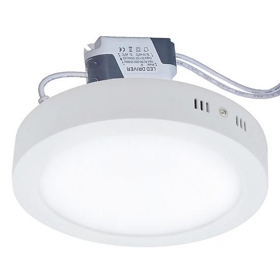[HCM]Đèn ốp trần LED gắn nổi 12W 18w 24w vuông tròn