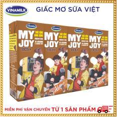 Thùng 48 hộp Thức Uống Năng Lượng Vinamilk My Joy Hương Sôcôla
