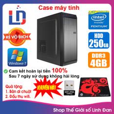 Case máy tính CPU Dual Core E7/8xxx / Core i3-2100 / Ram 4GB / HDD 250GB-500GB / SSD 120GB-240GB + [QUÀ TẶNG: USB thu wifi + bàn di chuột] – LLD