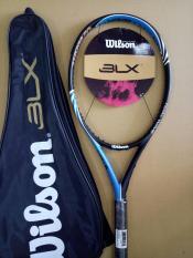 Vợt tennis Wilson 264g- Màu xanh – tặng căng cước quấn cán và bao vợt – ảnh thật sản phẩm