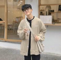 Áo hoodie, áo khoác thun nỉ nữ cực đẹp CADIGAN THÊU TIM UNISEX from rộng dài mềm mịn thoáng mát