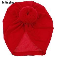 Mũ turban Jettingbuy bông hồng bảo vệ đầu cho trẻ mới biết đi, một kích thước cho bé 1-2 tuổi – INTL