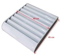Louver – Chuyển hướng gió dàn cục nóng điều hòa máy lạnh thép sơn tĩnh điện kích thước 45x40cm