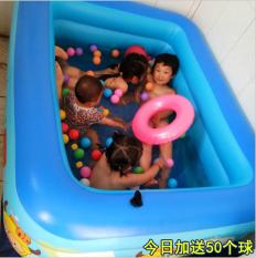 [Siêu dài – ship rẻ – hot 2020] Bể Bơi Phao Cho Bé trong nhà 3 tầng 1m5 hình chữ nhật 150x110x48 họa tiết ngộ nghĩnh bồn tắm hơi cho bé , bồn tắm trẻ em bơm hơi + Tặng kèm keo miếng vá