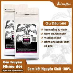 [TRỢ GIÁ ĐẶC BIỆT] 1Kg Cà phê nguyên chất Culi đặc biệt Kalacoffee Pha Phin hậu ngọt , Gu cực đậm , cực mạnh , thơm dai , hậu ngọt 2 gói 500g