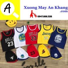 Combo 5 bộ BA LỖ thể thao quần áo trẻ em dễ thương cho bé trai bé gái B002