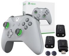 Tay cầm chơi game Xbox One S Wireless Controller + 2 Pin Sạc Có Dock Sạc