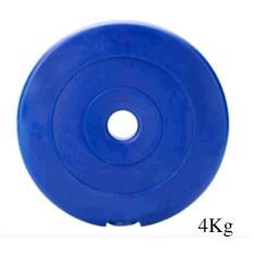 Tạ MIẾNG nhựa 4kg SportLink (Xanh)