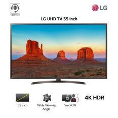 Smart TV LG 55inch 4K Ultra HD – Model 55UK6340PTF (Đen) – Hãng phân phối chính thức