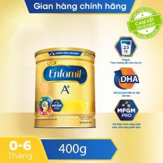 [FREESHIP 30K TOÀN QUỐC] Sữa bột Enfamil 1 cho trẻ từ 0-6 tháng tuổi (400g) – Cam kết HSD còn ít nhất 10 tháng