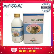 Thuốc xịt đặc trị diệt ve, bọ chét chó mèo Vime-Frondog 250ml