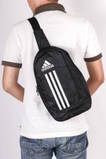 Túi đeo vai chéo thể thao nam PinaLand (Đen) – Bản đặc biệt