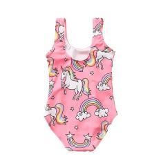 Đồ bơi cho bé gái 3-6 tuổi hình ngựa 1 sừng tươi tắn BBShine – DB005