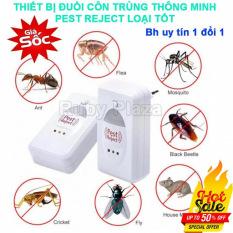 Máy đuổi chuột và các loại côn trùng bằng sóng từ dây điện và sóng siêu âm