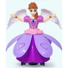 Công chúa xoay 360 độ..