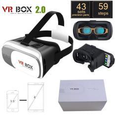 Kính xem phim thực tế ảo Chuẩn 3D VR Box dùng cho tất cả các dòng điện thoại Phiên bản mới nân cấp 2020