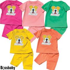 [HCM]Sét 3 Quần áo trẻ embộ đồ bé gái metky cho bé từ 6kg-29kg.BDBG20.