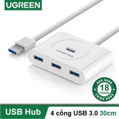 Hub USB 3.0 4 cổng tốc độ 5Gbps dài 50cm UGREEN CR113 20282 – Hãng phân phối chính thức