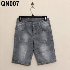 Quần short denim nam phong cách – QN007