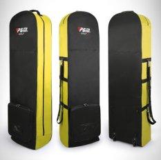 Túi hàng không đựng gậy Golf đi máy bay có bánh xe tiện lợi PGM QA03 (Đen)