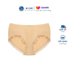 Quần Lót Nữ Cotton Cạp Trung Mỏng Nhẹ Co Giãn 4 Chiều Kháng Khuẩn Khử Mùi Thoáng Mát By Bechipi – QL2018