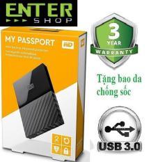 Ổ cứng di động WD My Passport 2TB+Tặng bao da chống sốc
